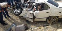 تصادف مرگبار 2کشته بر جا گذاشت
