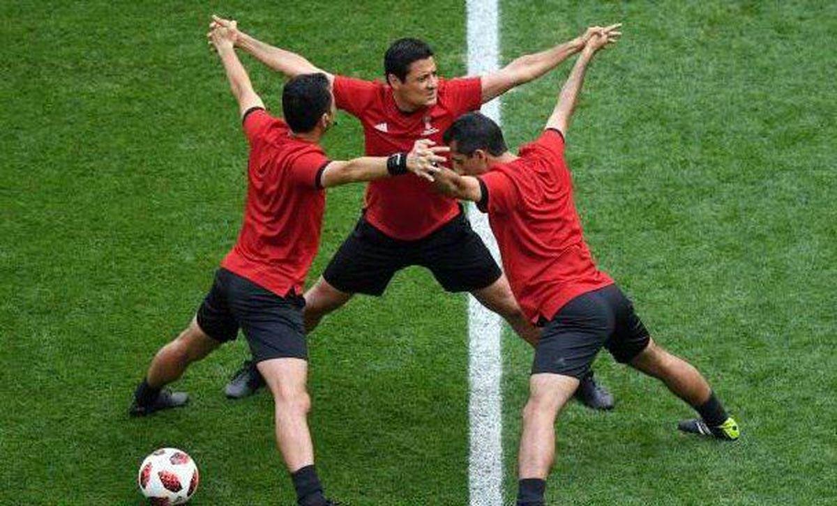 حرکت عجیب تیم فغانی قبل از بازی رده بندی +عکس