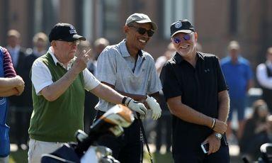 گلف بازی اوباما