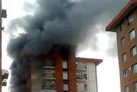 آتشسوزی در مسکن مهر