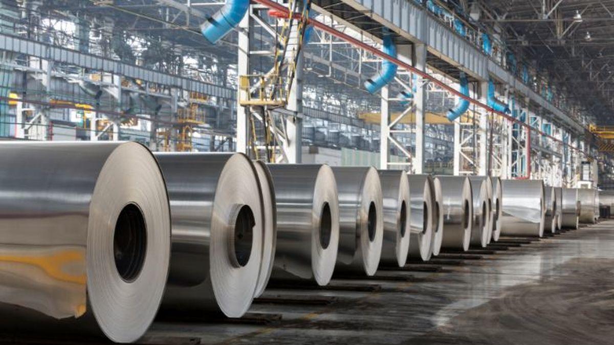 عقبگرد فلزی در رینگ صنعتی