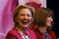 هیلاری کلینتون در هفته مد نیویورک +تصاویر