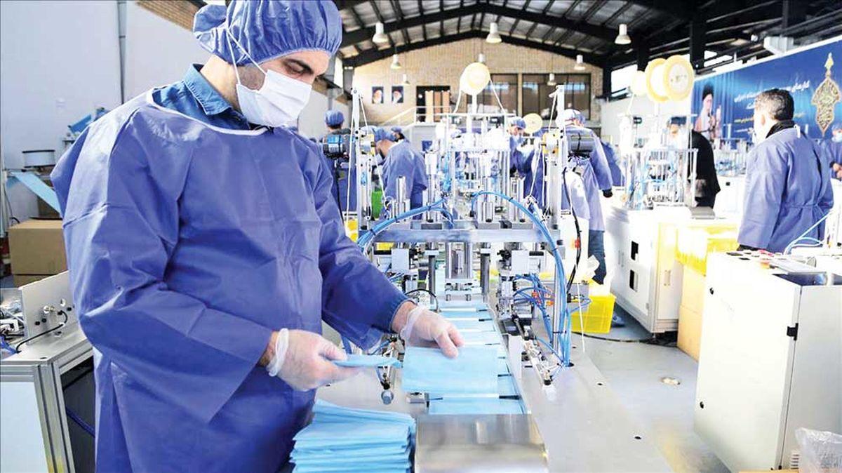 تولید روزانه ۱۷میلیون ماسک در کشور
