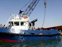 توقیف غیرقانونی دو فروند شناور خدماتی ایران در بندر کویت