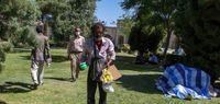 بساط معتادها در میدان تاریخی کرمان +عکس