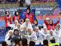 زنان ایران ملکههای فوتبال آسیا ماندند