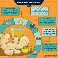 پنج دلیل برای افزودن زنجبیل به صبحانه