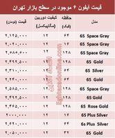 مظنه قیمت آیفون۶ در ایران؟ +جدول