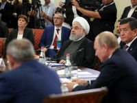 رئیس جمهور در اجلاس اوراسیا +فیلم