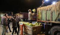 آخرین وضعیت تردد کامیونتبارهای آلاینده در بازار مرکزی میوه و ترهبار