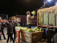 عملیات گسترده ضد عفونی کردن 245 میدان و بازار میوه و تره بار تهران