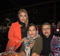 رویا تیموریان و دخترانش در مهمانی +عکس
