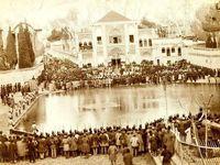 میدان توپخانه در روز عاشورا در دوران قاجار +عکس