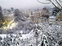پایتخت سفید پوش شد +تصاویر