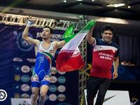 تیم ایران قهرمان کشتی فرنگی جوانان جهان شد