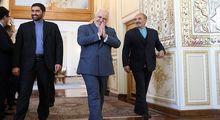 دیدار وزیرخارجه اتریش با ظریف +عکس