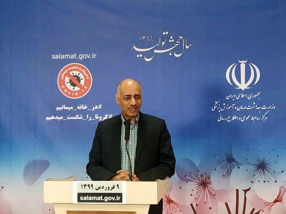 ویروس کرونا از اوایل بهمن در ایران چرخش داشته است