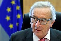 حرکات عجیب رئیس کمیسیون اتحادیه اروپا +فیلم