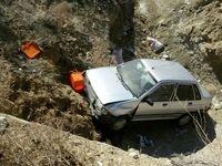 نجات فرد سقوط کرده به دره 150متری پس از 4روز