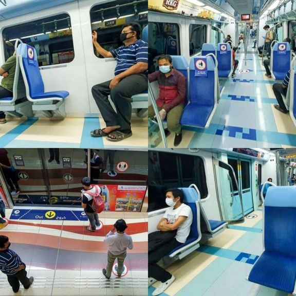 آغاز به کار حمل و نقل عمومی دوبی با تمهیدات کرونایی