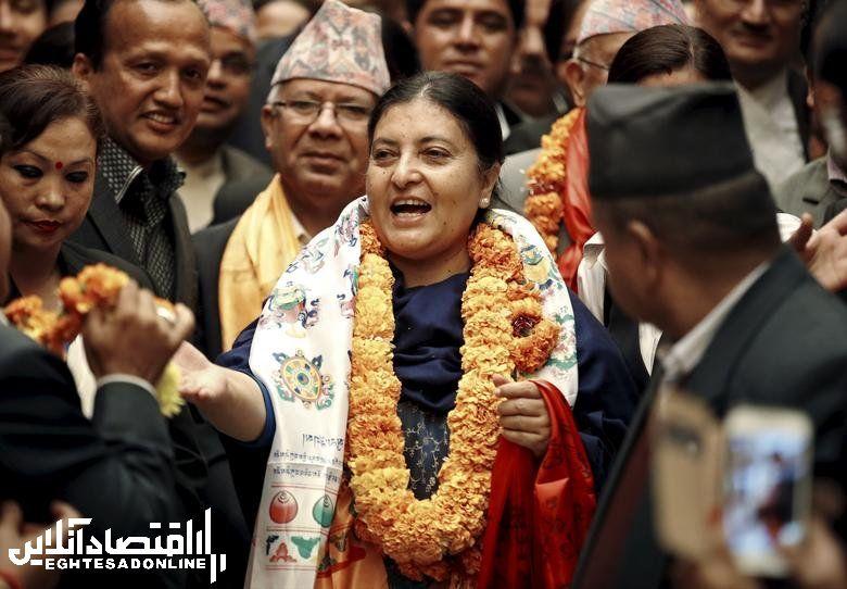 Nepal's President Bidhya Bhandari, in office since October 29, 2015. REUTERS/Navesh Chitrakar