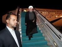 استقبال از روحانی در فرودگاه آنکارا +تصاویر