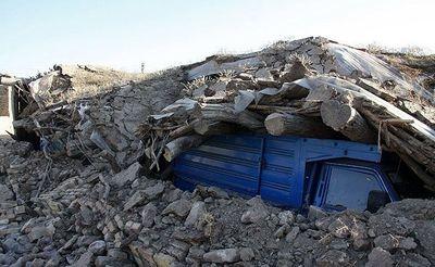 واکنش پلیس به بیرون آمدن اژدها پس از زلزله کرمانشاه