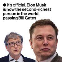 ایلان ماسک دومین فرد ثروتمند جهان شد