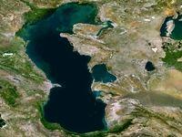 توسعه گذرگاههای آبی مسکو/ روسیه دریای خزر و آزوف را به هم وصل میکند