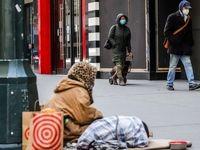 ۲۲ درصد خانوارهای آمریکایی در معرض بیخانمانی