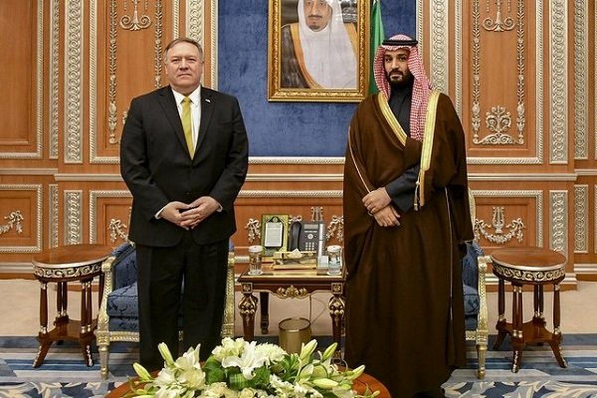 دیدار پامپئو و بن سلمان با محوریت خاورمیانه
