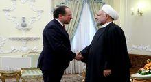 دیدار وزیر خارجه اتریش با روحانی +عکس