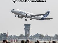 ساخت اولین هواپیمای هیبریدی جهان