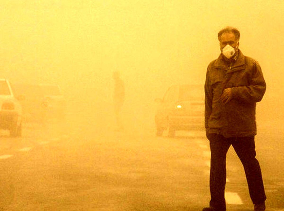 سرعت طوفان شن در زابل به ۱۰۸کیلومتر بر ساعت رسید