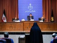 جلسه چهارم دادگاه دختر وزیر سابق +تصاویر