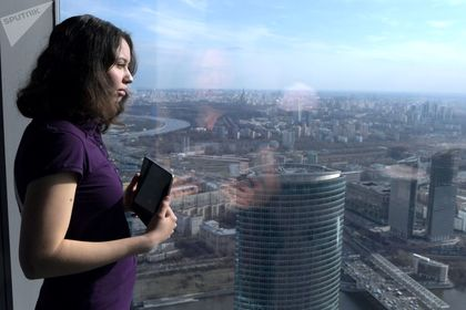 بلندترین آسمانخراش اروپا در مسکو +تصاویر