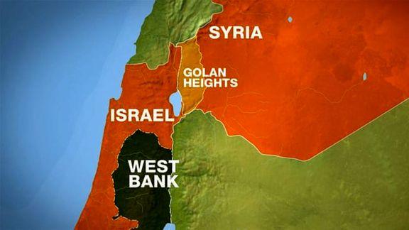 اسرائیل حریم هوایی در ارتفاعات جولان را بست