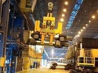 طراحی و ساخت رول تانگ حمل غلتک در مجتمع فولاد سبا
