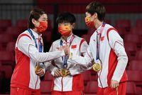 چین ادعای قهرمانی در المپیک توکیو کرد / جمع بندی تعداد مدال ها با مدال های هنگ کنگ و تایوان