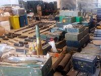 انبار سلاحهای تولید آمریکا و اسراییل در سوریه کشف شد