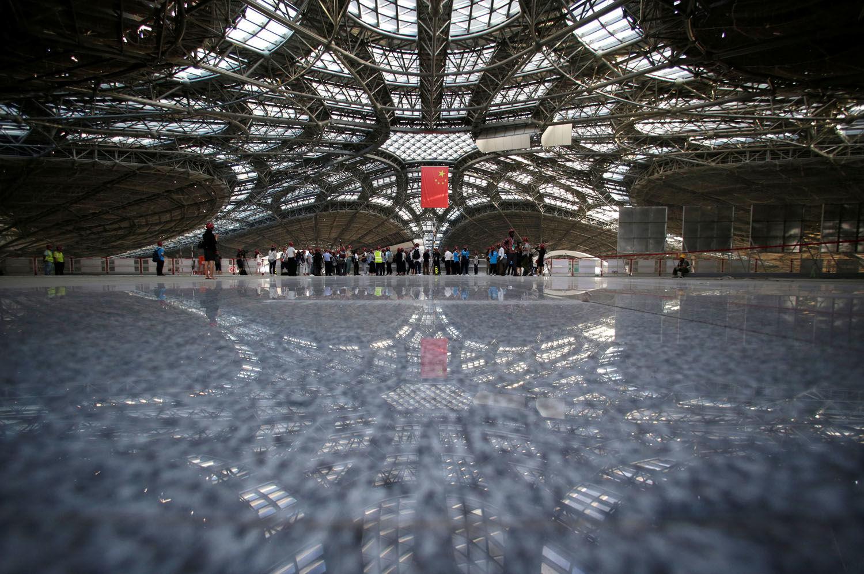 ساخت بزرگترین فرودگاه جهان در پکن