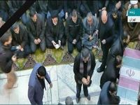 ورود پیکر شهدای مقاومت به دانشگاه تهران +عکس