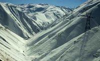 اولین تصاویر از کوهنوردان یخ بسته تهران!