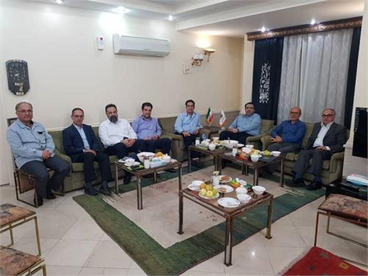 تفاهم نامه فیمابین فولاد خوزستان و کشتیرانی به امضا رسید