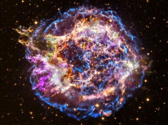 زندگی پس از انفجار یک ستاره را ببینید +عکس