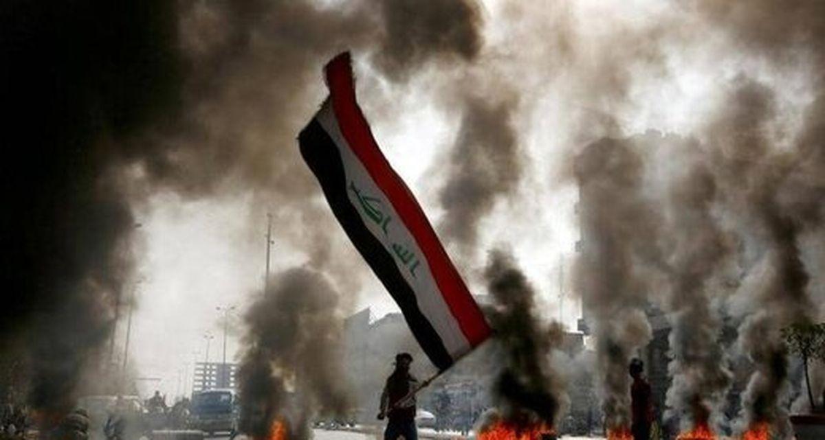 حمله معترضان خشمگین به سفارت آمریکا در بغداد