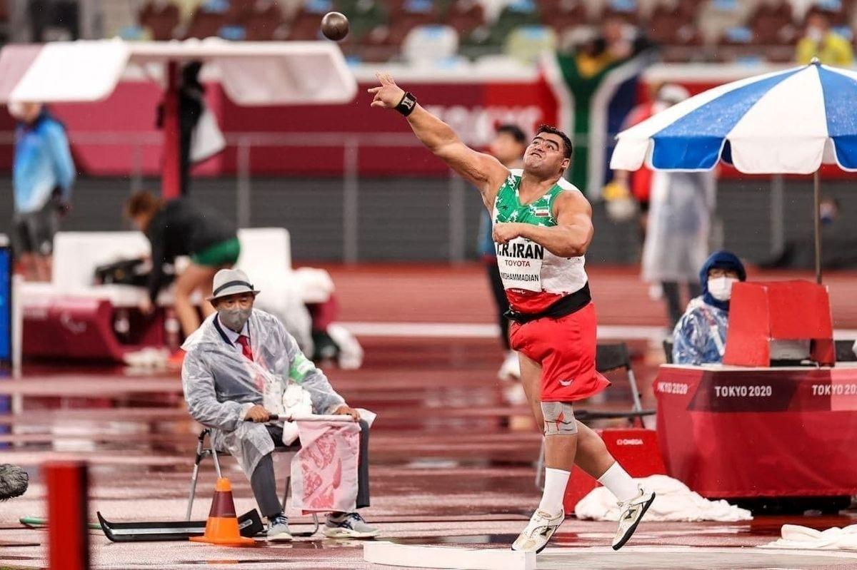 محمدیان به مدال نقره پارالمپیک رسید