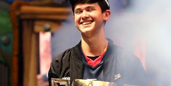 پسر 16ساله برنده 3میلیون دلار جایزه بازی ویدیویی شد!