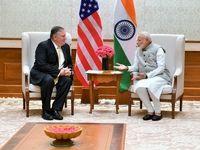پامپئو با نخستوزیر هند دیدار کرد