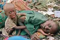 نسل کشی هولناک غیرنظامیان در روندا +تصاویر